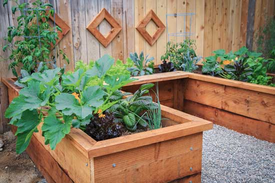 DIY: How to Build a Raised Garden Bed via Mother Earth News