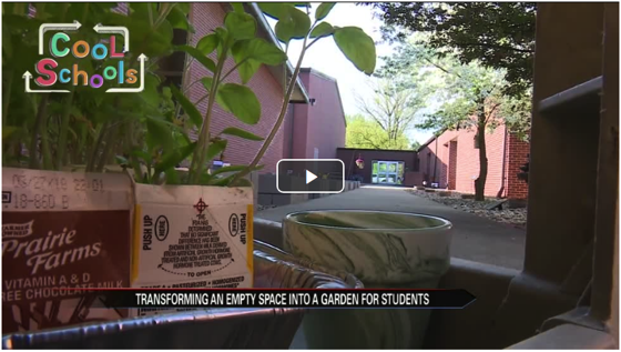 News: Cool Schools: St. Thomas School builds community garden via ABC 57 News