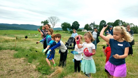 Saturday Sprouts Club helps kids find roots via Rutland Herald