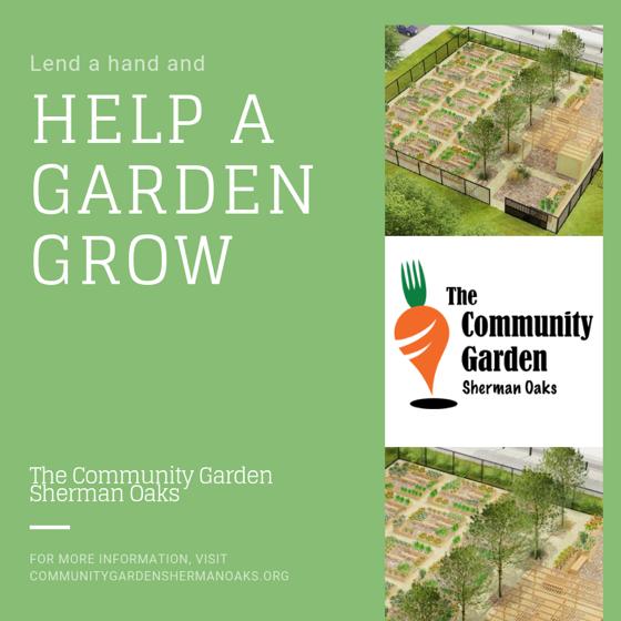 Lend A Hand and Help A Garden Grow!